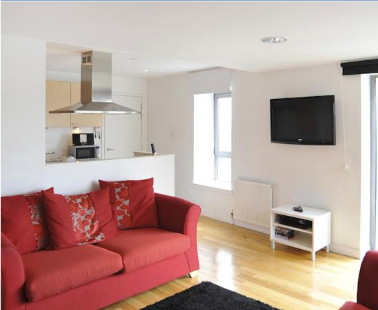 Riverview Apartment to Let - River Clyde Glasgow